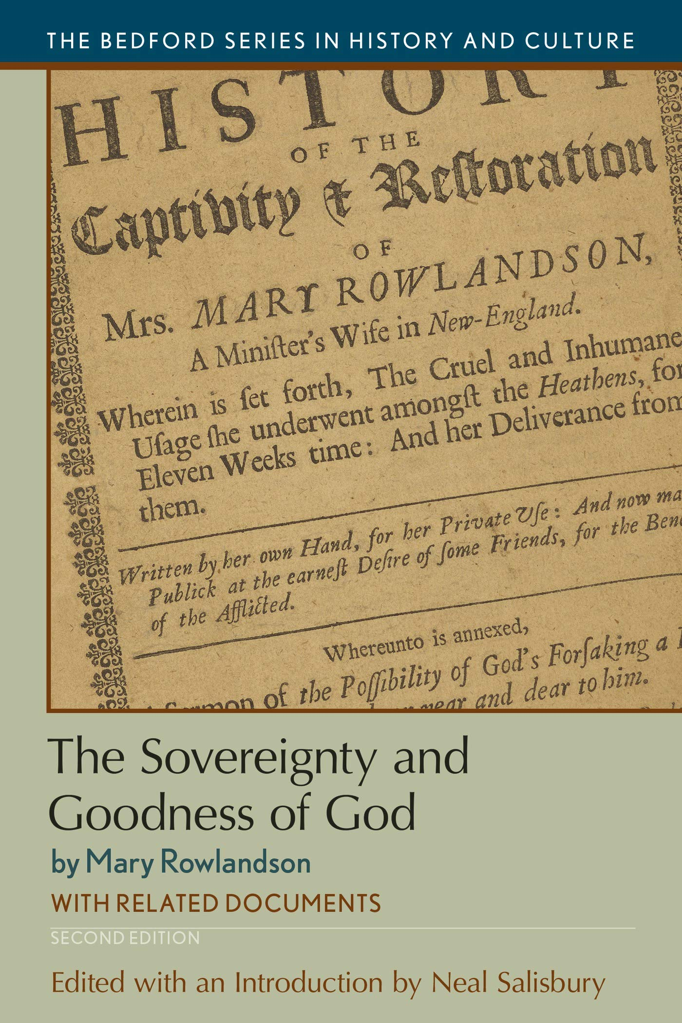 the sovereignty and goodness of god with related documents pdf