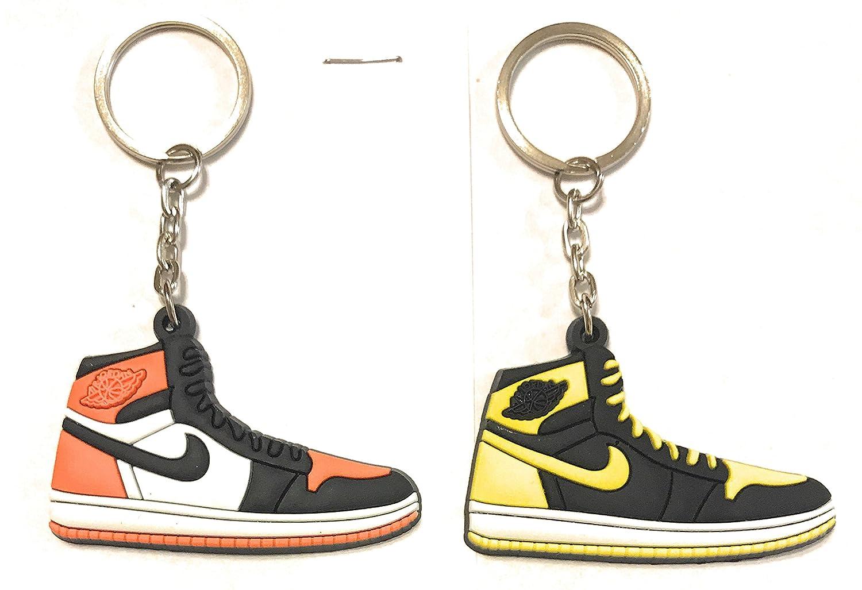 Zapatos Sneaker llavero AJ-1 Retro 2 Pack, Anaranjado ...