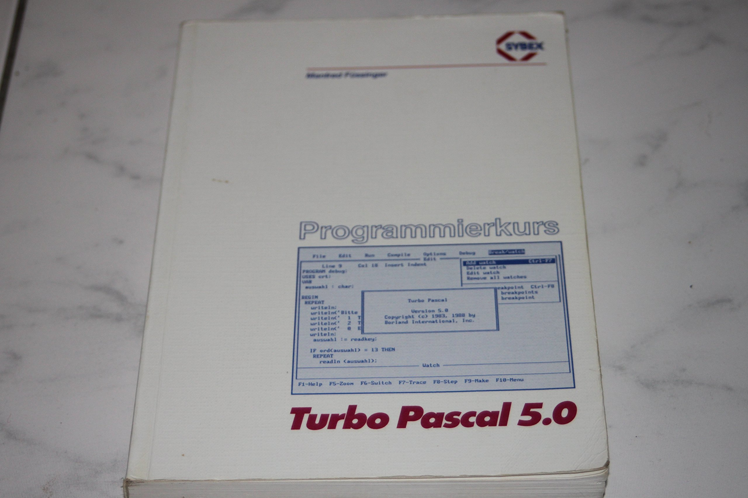 Programmierkurs Turbo Pascal 5.0: Amazon.es: Manfred Füssinger: Libros en idiomas extranjeros