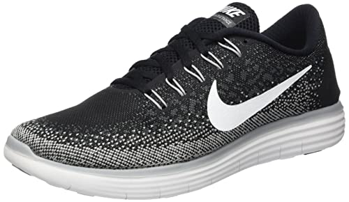 quality design a5818 8ba48 Nike Mens Free RN Distance Running Shoes, Black, ...