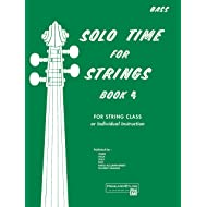 Solo Time for Strings, Bk 4: Bass