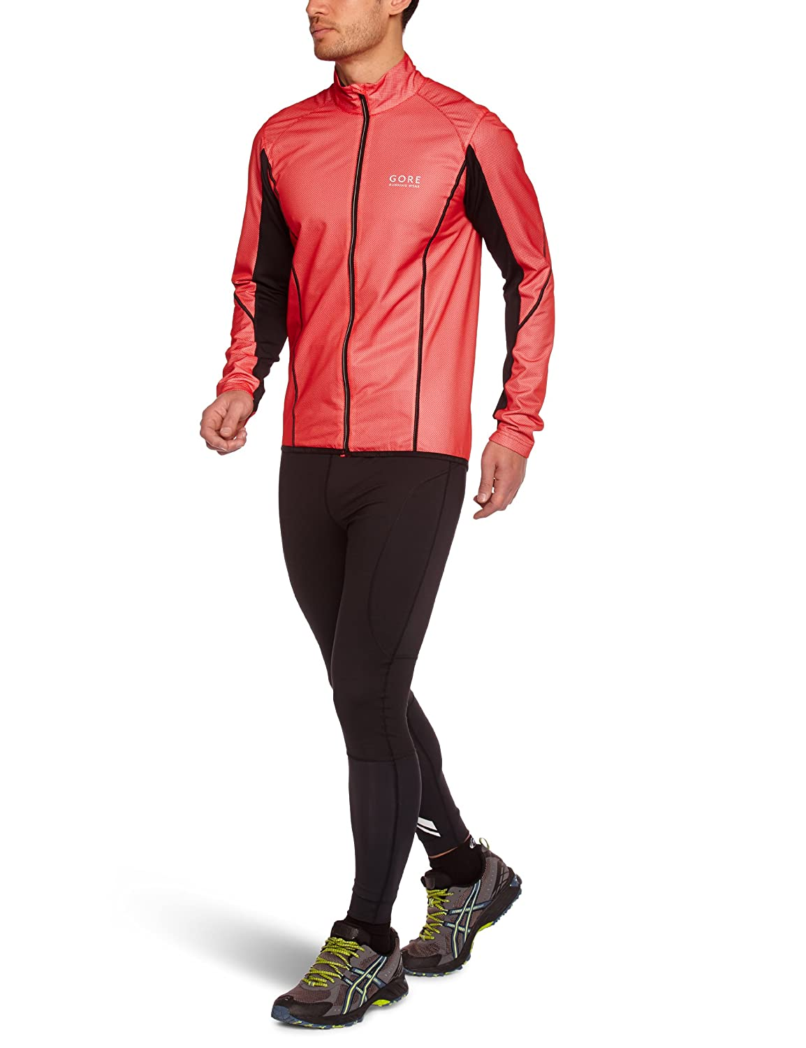 GORE RUNNING WEAR Herren winddichte Laufjacke, 2-Lagen WINDSTOPPER Active Shell, JWMAGN