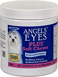 Angel's Eyes AENSC120PLBF 120 Counts Plus Soft Chews for Dogs