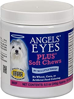 product image for Angel's Eyes PLUS Tear Stain Prevention Soft Chews for Dogs - 120 Ct - Beef Formula