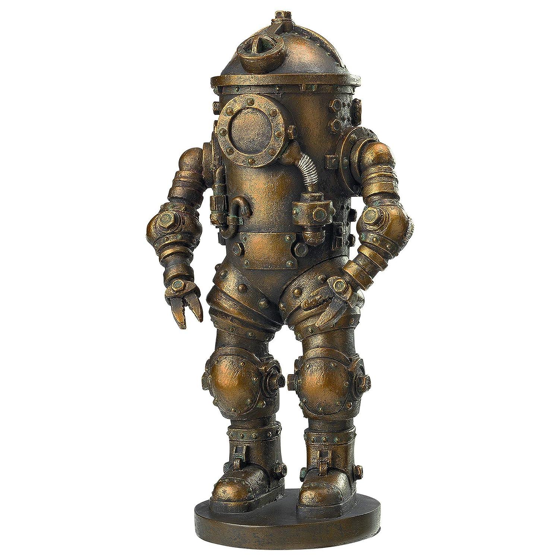 Design Toscano Tritonia Atmospheric Diving Suit Steampunk Statue