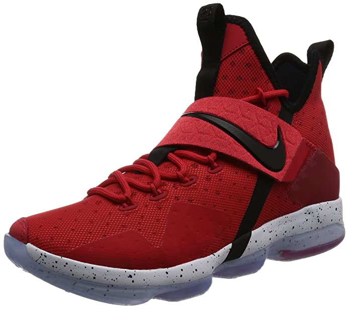 purchase cheap 61a84 52b69 Amazon.com | NIKE Men's Lebron XIV Ep, University RED/Black-White, 11 M US  | Shoes