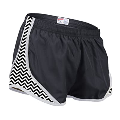 Soffe Girls Printed Team Shorty Shorts