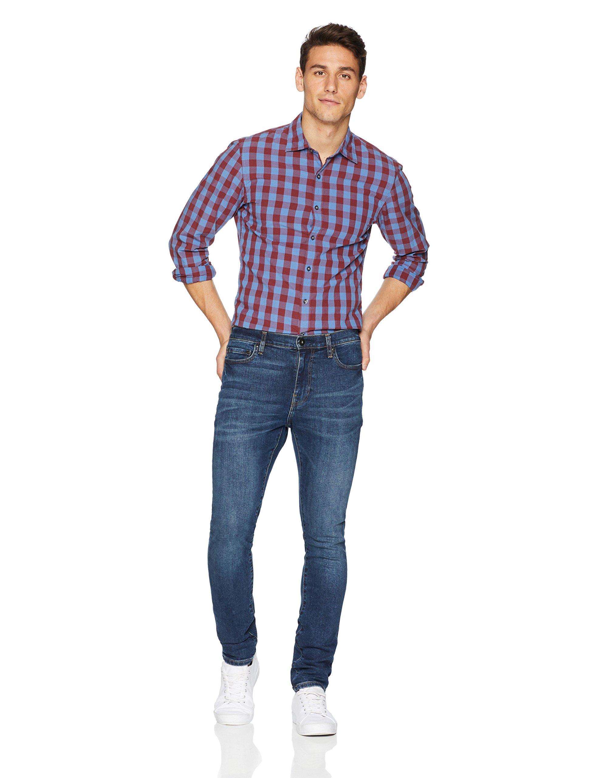 Goodthreads Men's Skinny-Fit Jean, Medium Blue, 38W x 34L by Goodthreads (Image #2)