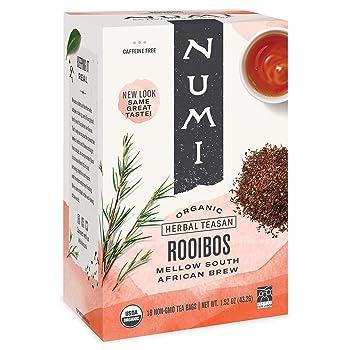 Numi Organic 18 Count Rooibos Tea