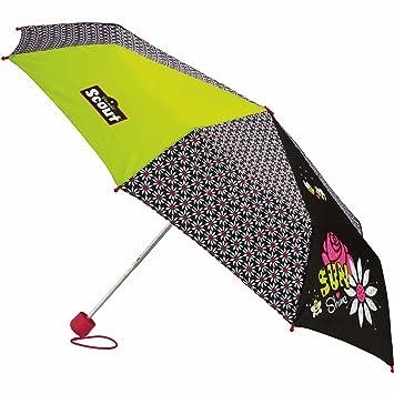 Scout Regenschirm Sunshine Schwarz Gelb Amazon De Koffer