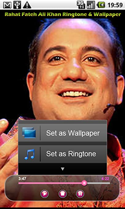 Amazon com: Rahat Fateh Ali Khan Ringtones: Appstore for Android