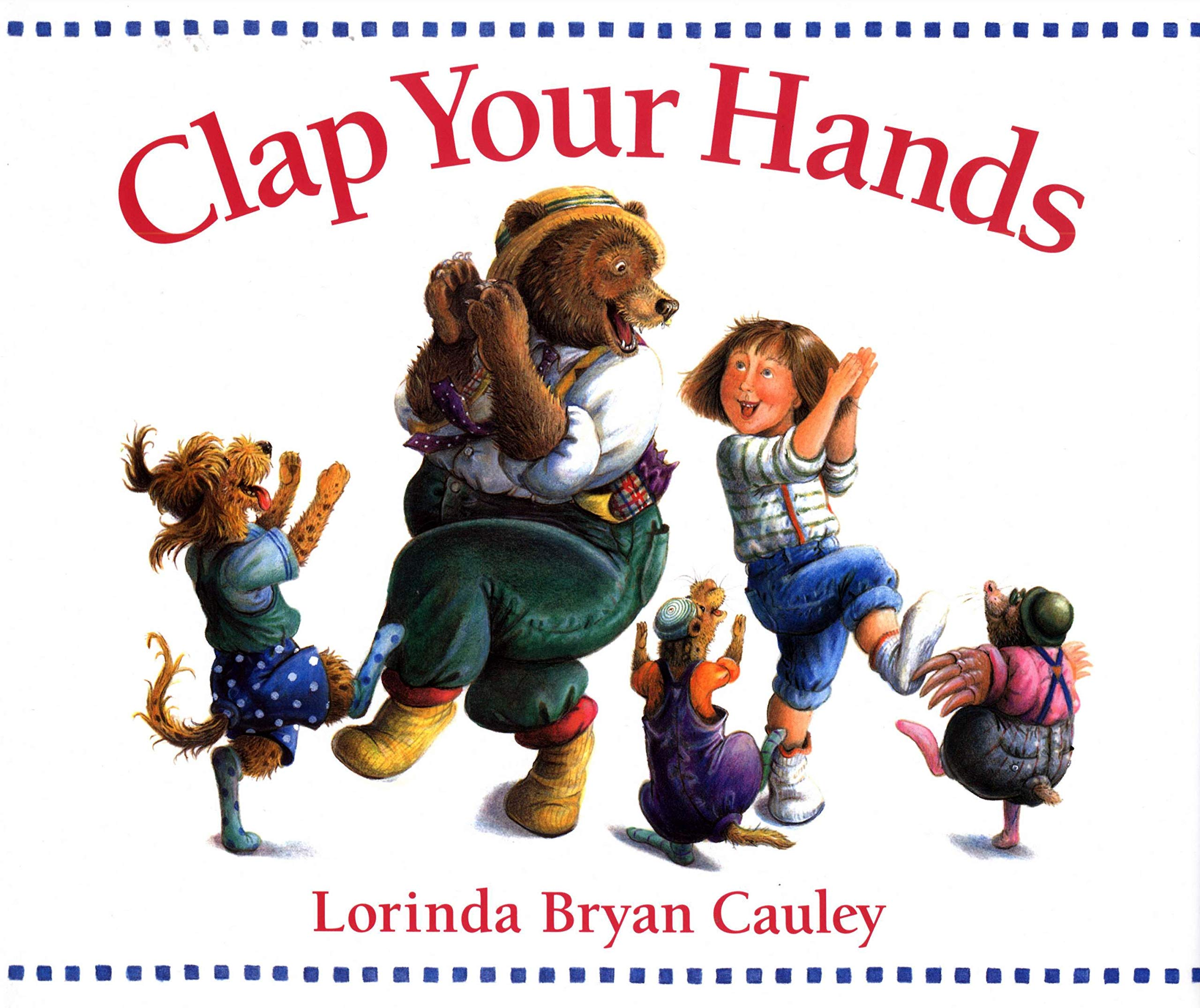 Amazon Com Clap Your Hands 9780399237102 Cauley Lorinda Bryan Books I made a hanger used insert. amazon com clap your hands