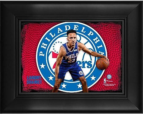 reputable site d58e5 87b70 Landry Shamet Philadelphia 76ers Framed 5