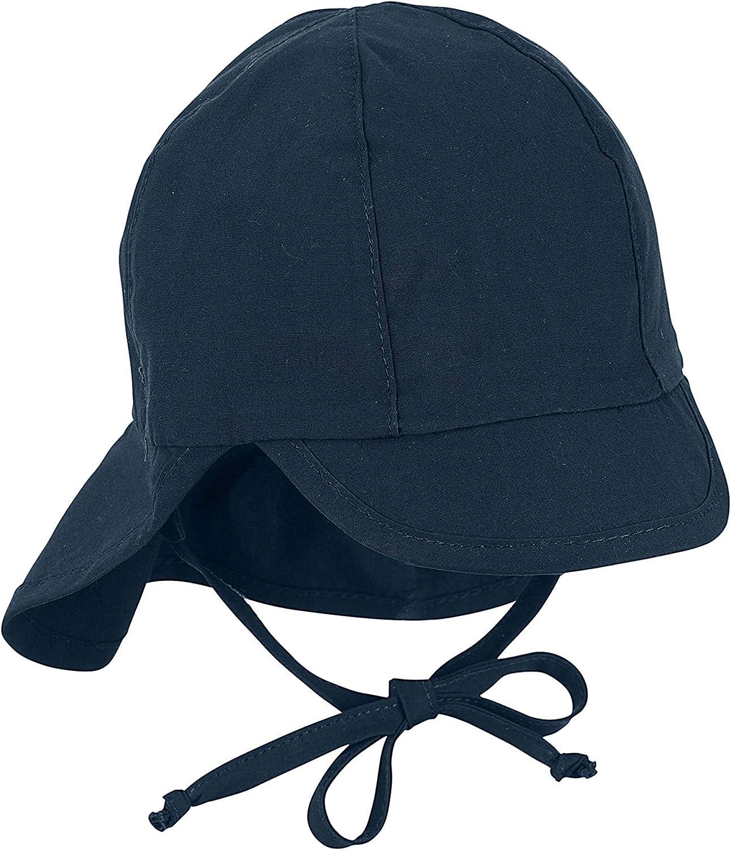 Sterntaler Schirmm/ütze M Nackenschutz Sombrero para Beb/és