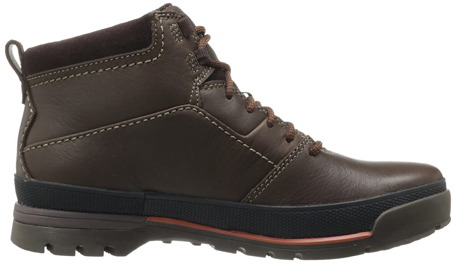 Amazon.com | CLARKS Men's Narly Trail GTX Boot, Brown Leather, 14 M US |  Chukka