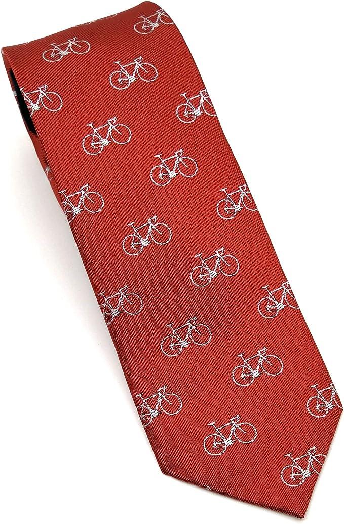 MR.PAJARITA Corbata Bicicletas para Hombre: Amazon.es: Ropa y ...