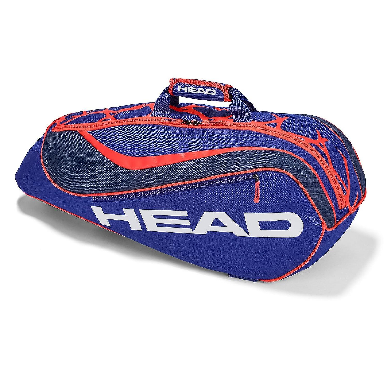 Head Kids 'Junior Combi Bolsa de Rebel–Raqueta de Tenis, Color Azul/Naranja, Talla única 283488
