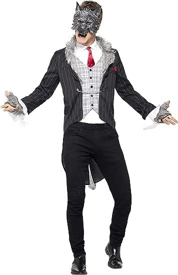 Un lupo mannaro da Uomo Halloween Costume adulti Horror Costume Outfit Nuovi
