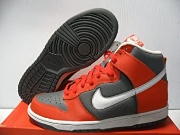 brand new c4706 a8a81 Image Unavailable. Image not available for. Color Nike Dunk HIGH Sneakers  Men Shoes College Orange ...