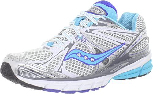 Saucony Womens Guide 6 - White Silver