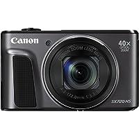 Canon PowerShot SX720 HS Digital Camera - Black (20.3 MP)