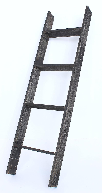 Barnwoodusa rustic 4 foot decorative ladder 100 for Decor ladder