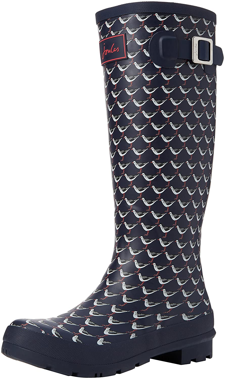 Joules Women's Welly Print Rain Boot B01M7UZNX8 10 B(M) US|French Navy Oyster Catcher