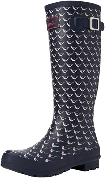 677f52ccf Joules Women s Welly Print Rain Boot  Buy Online at Low Prices in ...