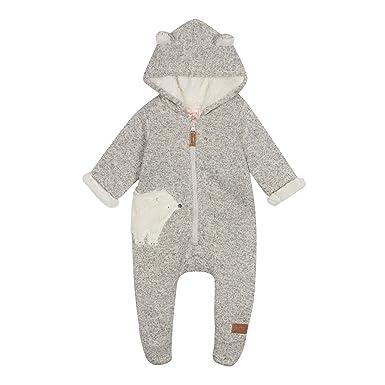 2badbe690 Mantaray Kids Babies  Grey Polar Bear Snugglesuit  Mantaray  Amazon ...