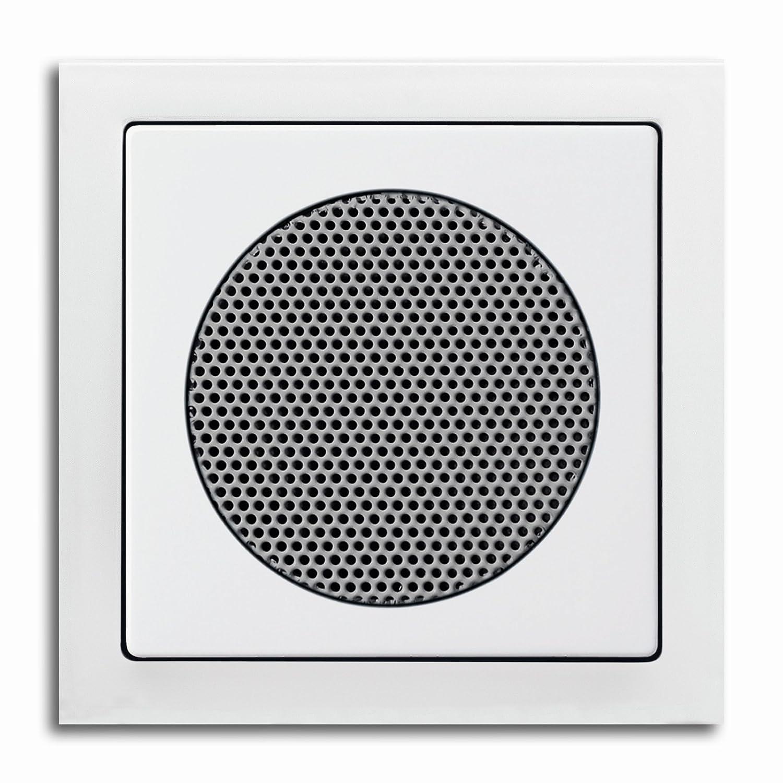 Komplett-Set BUSCH-JAEGER, Lautsprecher fü r UP-Digitalradio -weiß - -Future