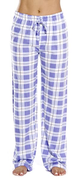 929a6f8d Just Love 100% Cotton Jersey Women Plaid Pajama Pants/Sleepwear at ...