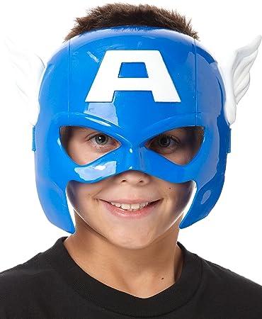 Amazoncom Marvel Universe Captain America Hero Mask Toys  Games
