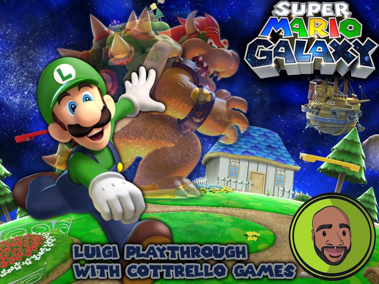 Mario Galaxy Storytime Roblox Id Watch Super Mario Galaxy Luigi Playthrough With Cottrello Games Prime Video