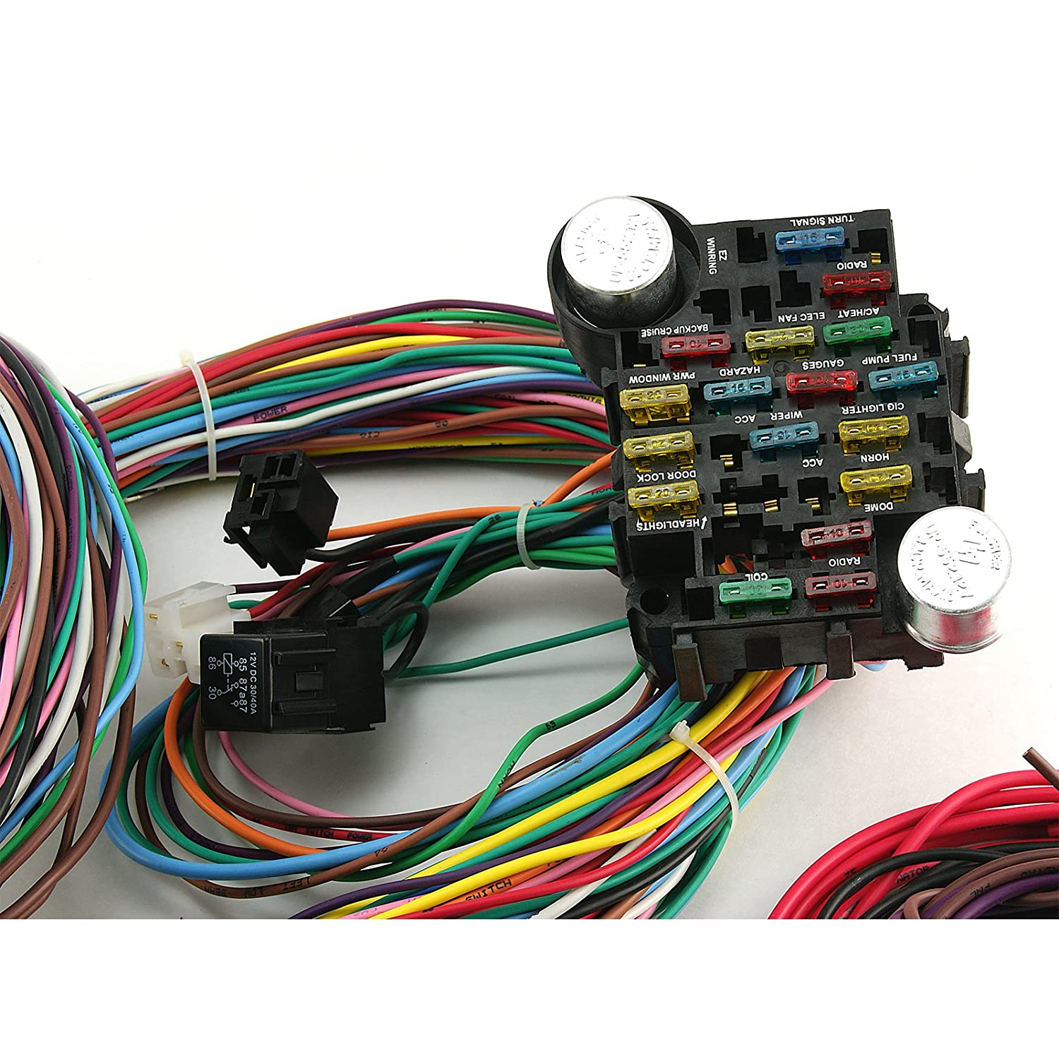 Ez Street Rod Wiring Harness Kit Electrical Diagrams 21 Circuits Speedway Circuit Diy Enthusiasts U2022 Hot Turn Signal Switch