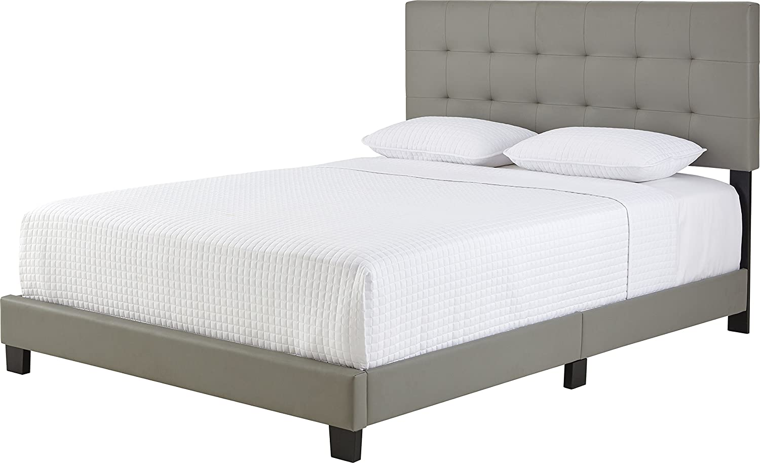 Boyd Sleep Murphy Upholstered Platform Bed Frame With Tufted