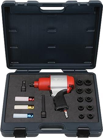 KS Tools 515.1220 Pack destornilladores de golpe neumáticos (810Nm ...