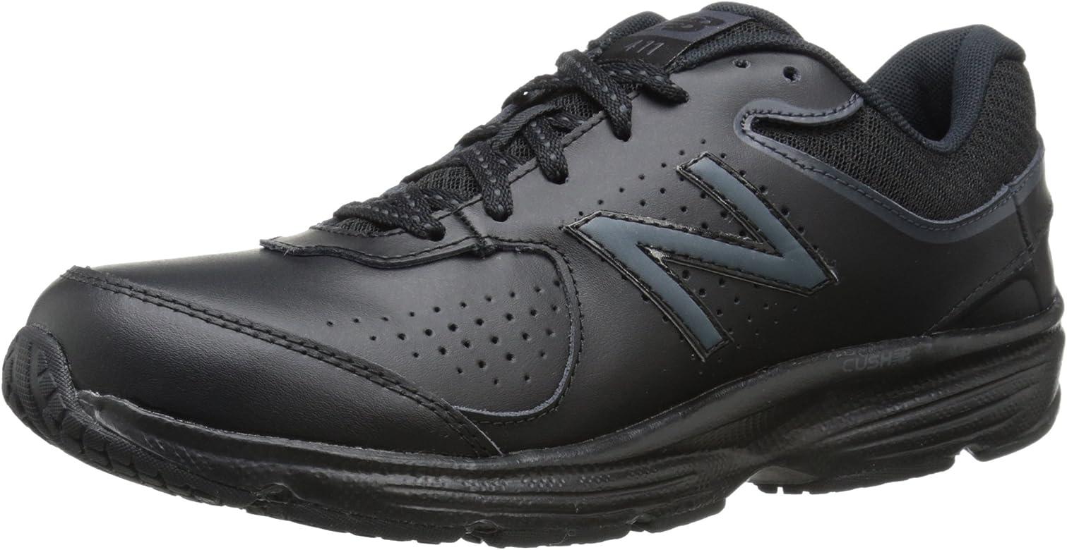 1b3505cf6b067 Amazon.com | New Balance Women's WW411v2 Walking Shoe, Black, 5 B US ...