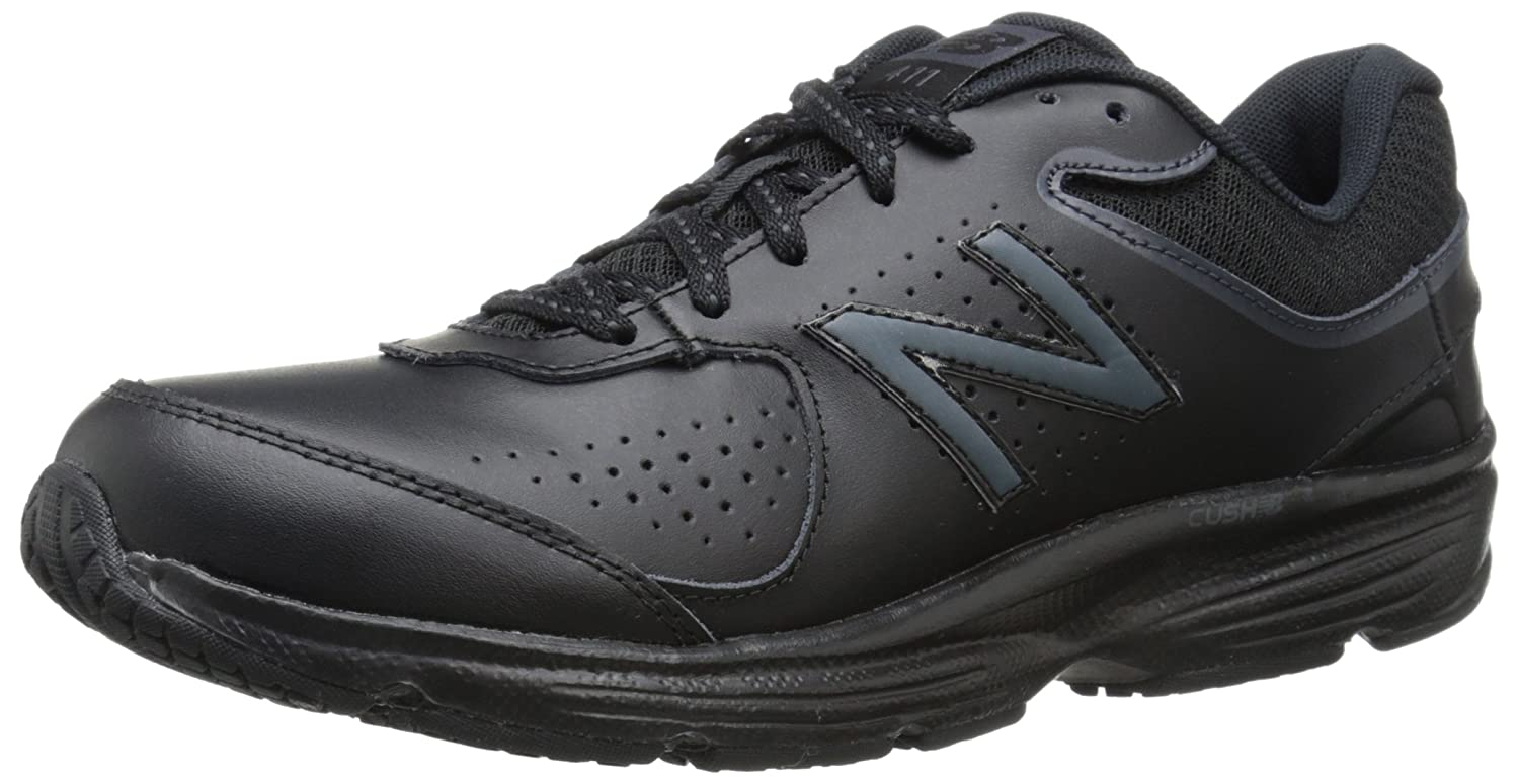 New Balance Women's WW411v2 Walking Shoe B00V3N8OA6 7 B(M) US|Black