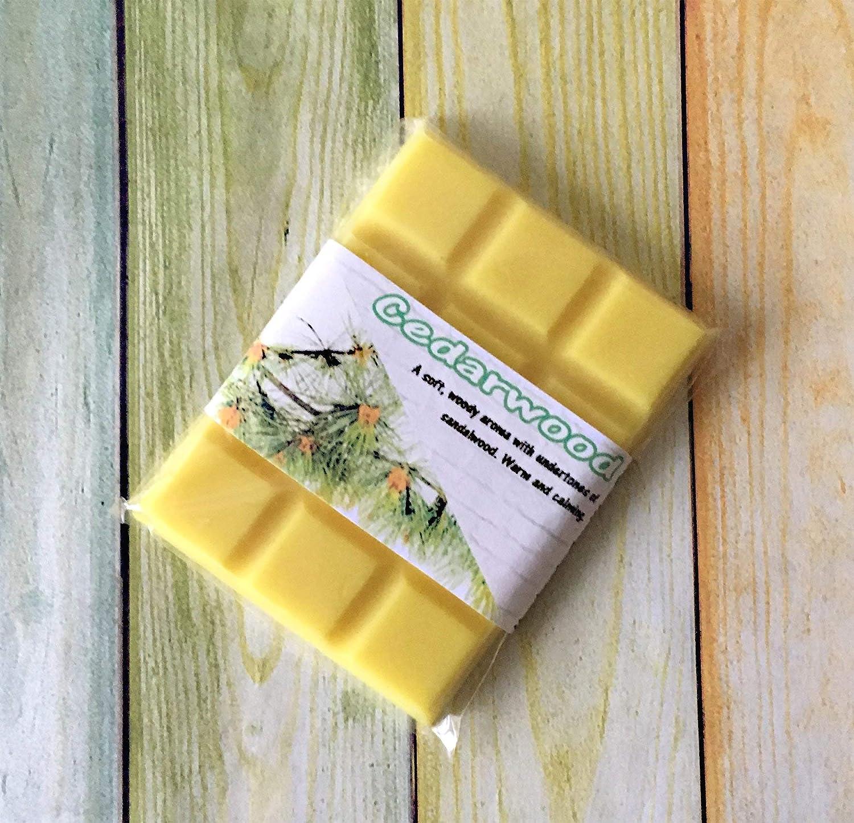 Cedarwood Essential Oil ~ Fragrant Wax Melts Snap Bar ~ Candle Wax Tarts