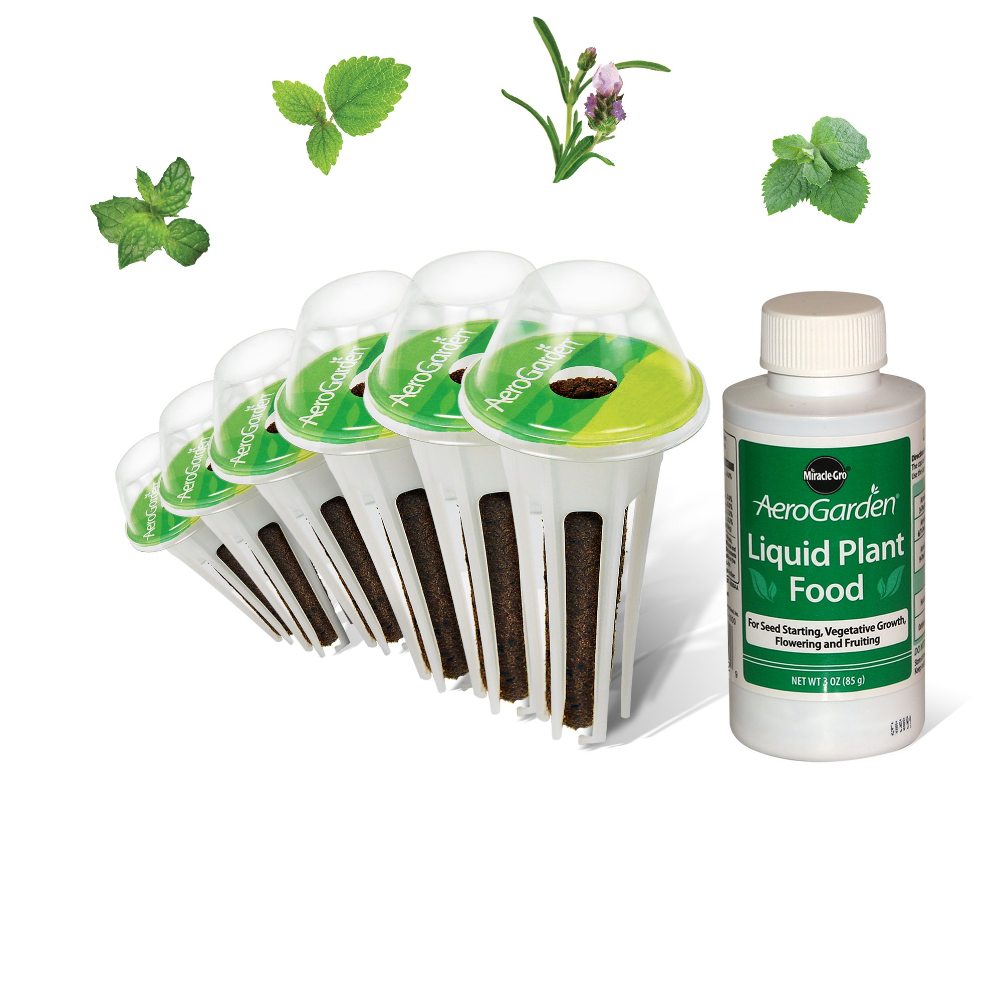 AeroGarden Tea Seed Pod Kit (Mint/Lemon/Lavendar) by AeroGarden