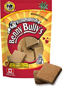 Benny Bullys Beef Liver Chops Dog Treat, 1.4 Oz