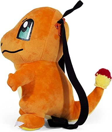 Pokemon Charmander 10 inch Plush Doll Backpack