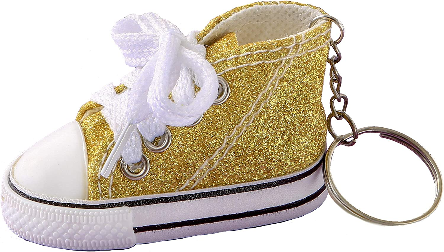 6198 Mini Canvas Sneaker Keychains for