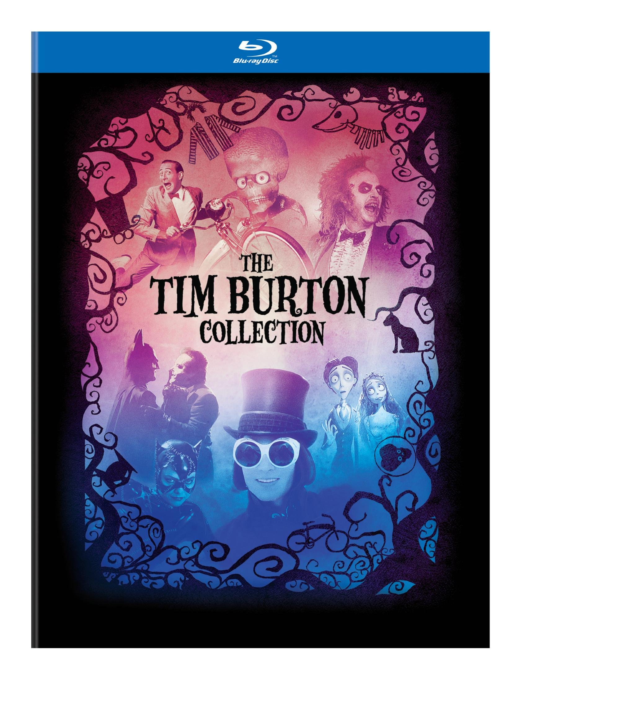 The Tim Burton Collection & Hardcover Book [Blu-Ray] 4