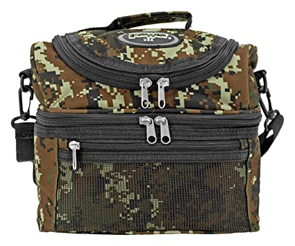 c5b795e2eb21 Amazon.com: EastWest USA Tactical Insulated Lunch Box with Shoulder ...
