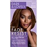 Permanent Hair Color by Dark and Lovely Fade Resist I Up to 100% Gray Coverage Hair Dye I Brown Cinnamon 391 I SoftSheen…