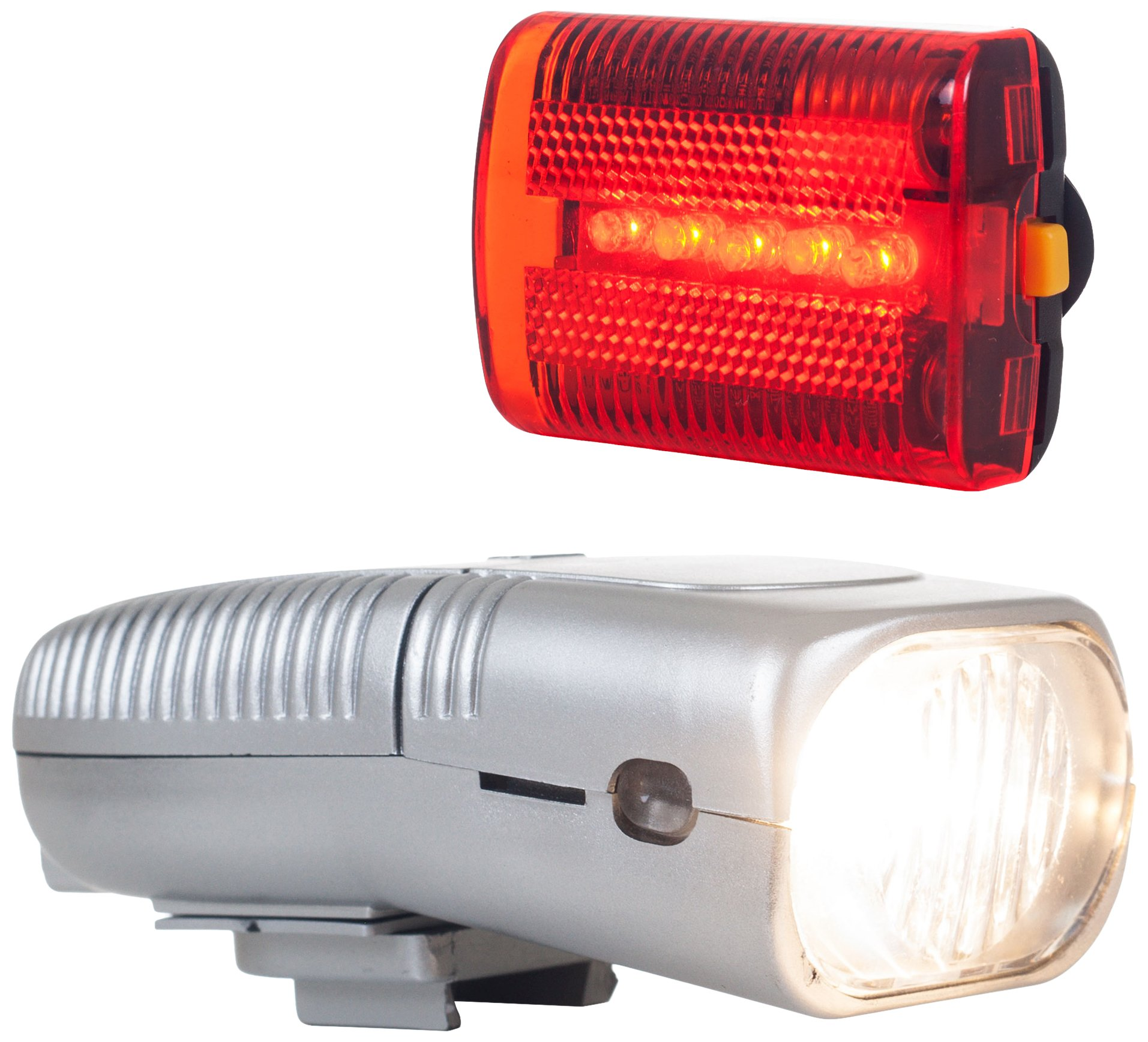 Whetstone Cutlery 75-275-A Bike Safety Bicycle Headlight and Taillight Set