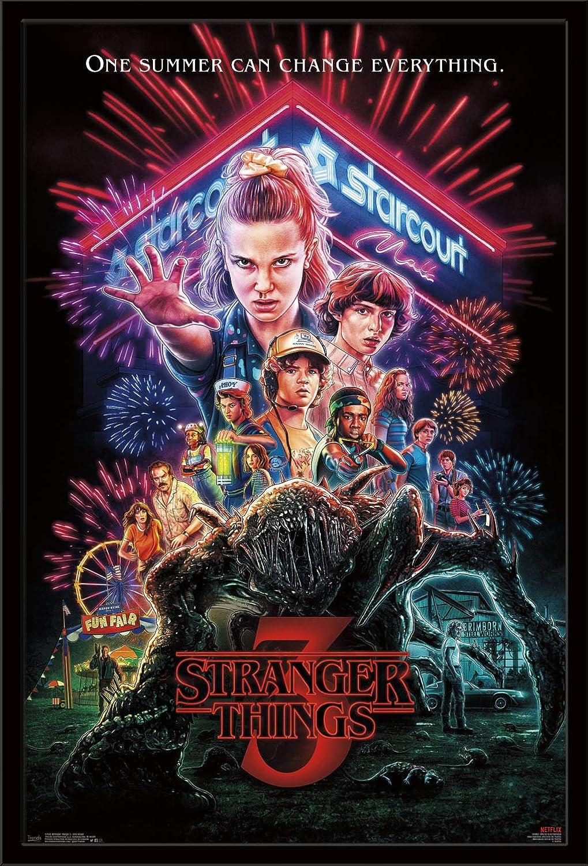 Trends International Netflix Stranger Things: Season 3 22.375 x 34 Multi One Sheet Wall Poster