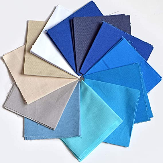 Amazon.com: Pájaro de colores, 60 piezas de tela de algodón ...
