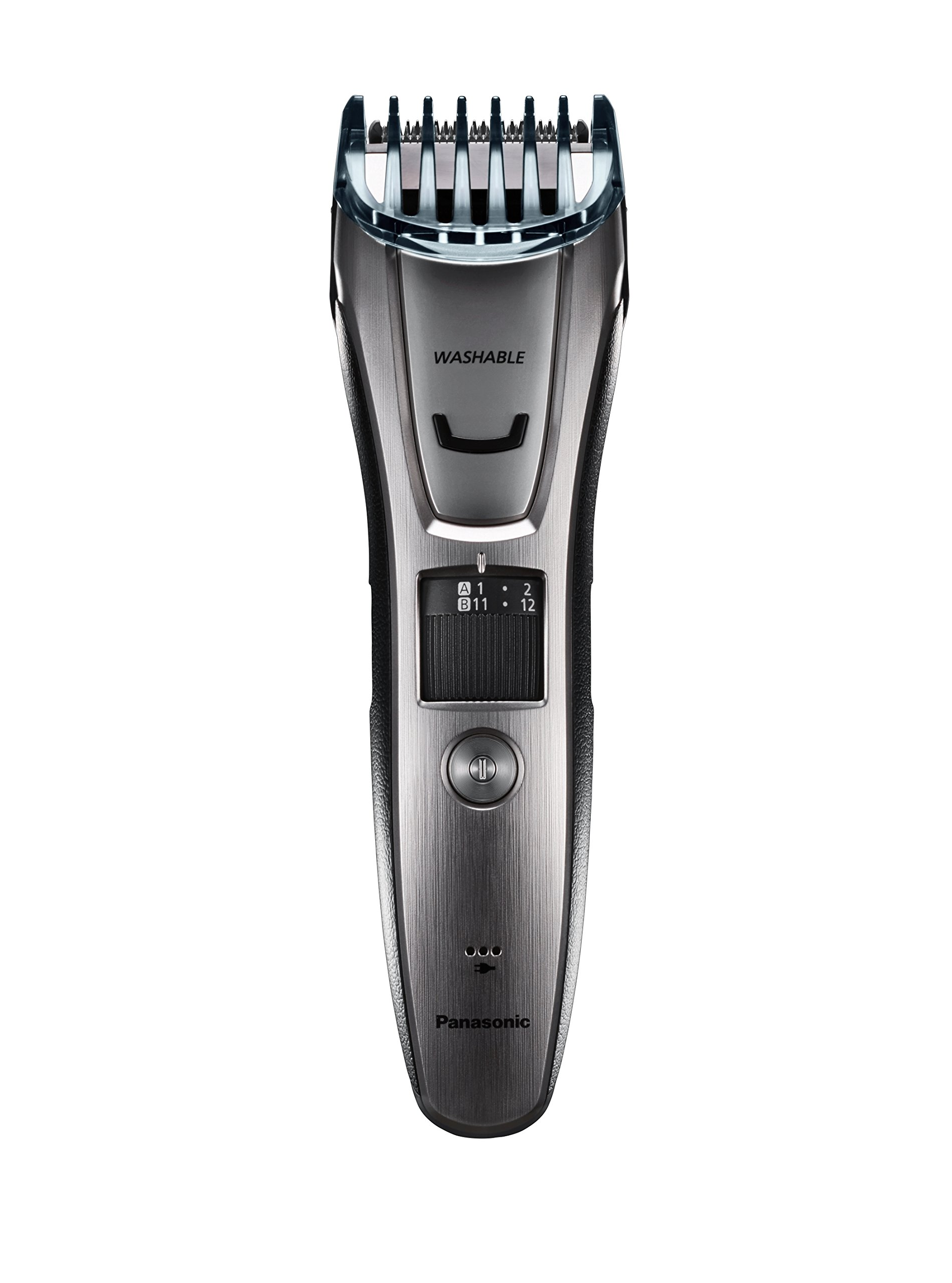 Panasonic ER-GB80-S Body and Beard Trimmer, Hair Clipper, Men's, Cordless/Corded Operation with 3 Comb Attachments and 39 Adjustable Trim Settings, Washable by Panasonic (Image #7)